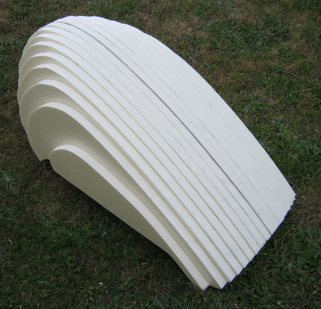 Car nage avant de v lo couch - Polystyrene extrude 30mm ...