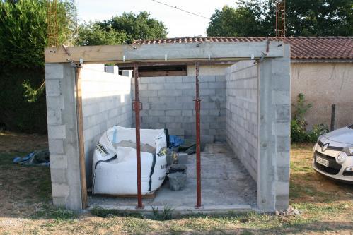 2017 08 07 1 coulage linteau garage